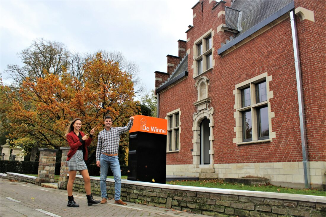 Immo De Winne neemt intrek in kasteel