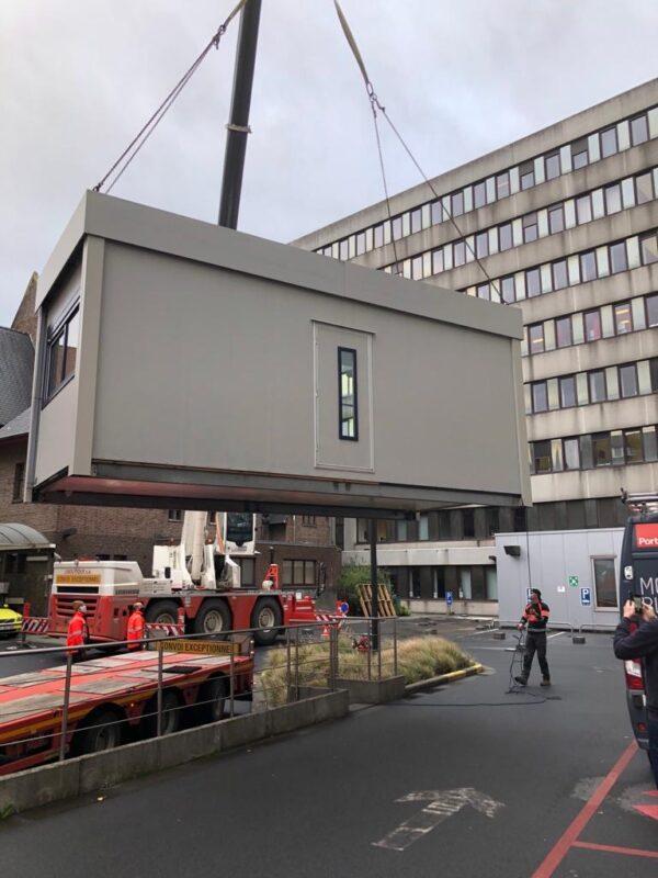 OLV breidt spoeddienst uit met container