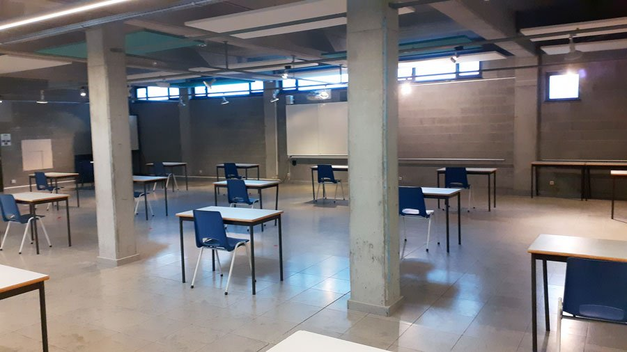 Studenten kunnen samen studeren in Aalst