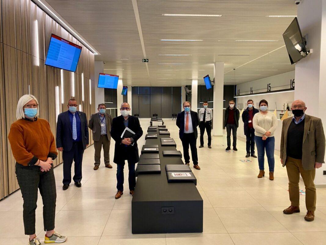 Sporthal Denderdal in Erembodegem wordt vaccinatiecentrum voor inwoners van Aalst, Erpe-Mere, Lede, Haaltert en Denderleeuw