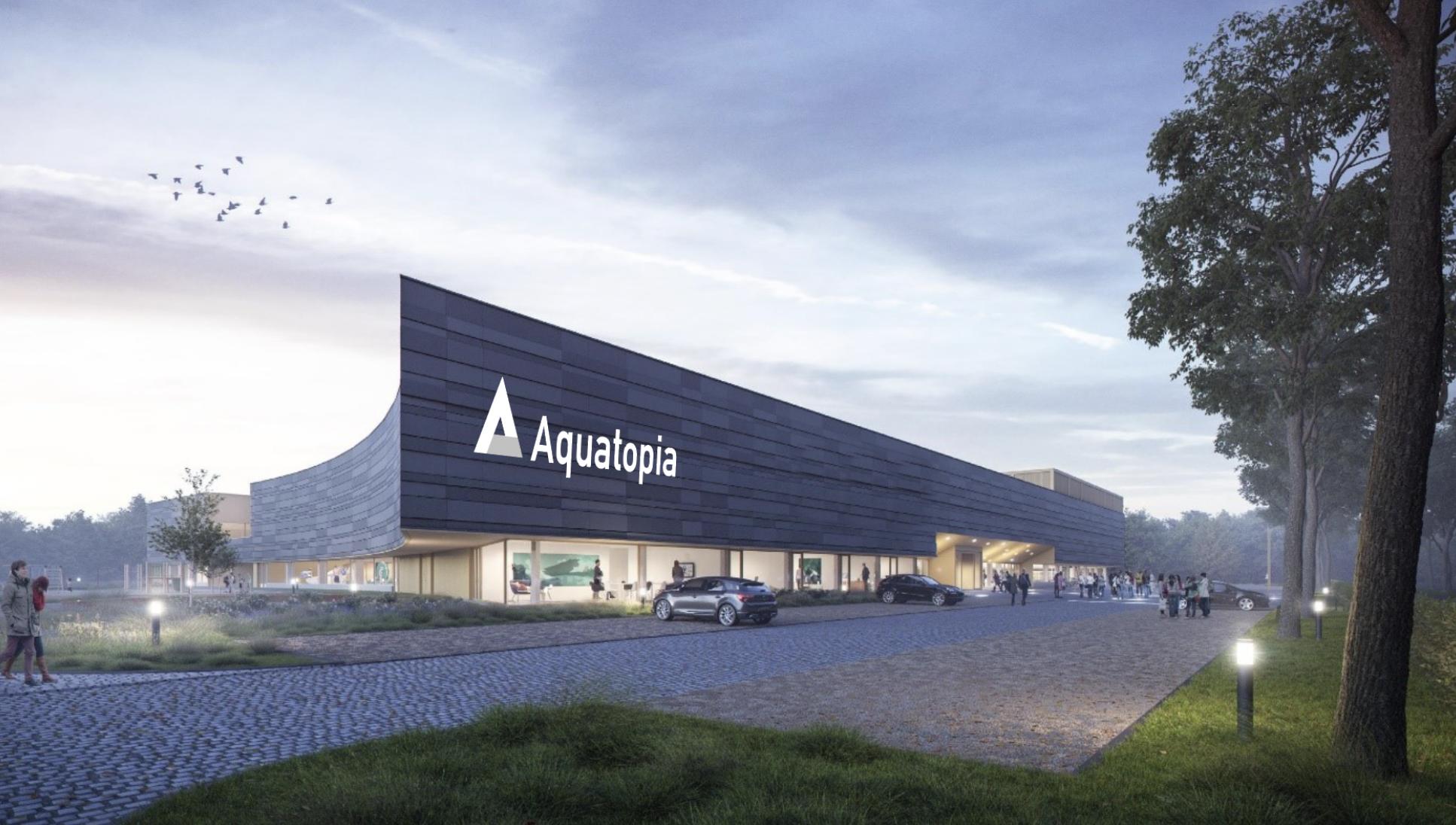Nieuw zwembadcomplex heet Aquatopia, zwembad krijgt naam van Ilse