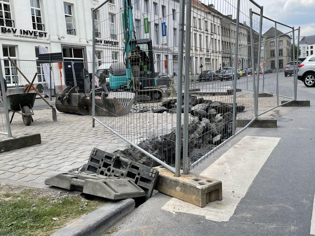 Keizersplein wordt heraangelegd en krijgt voetgangerszone