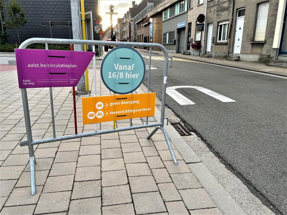 Aalsters circulatieplan in voege getreden: straten veranderen van richting, nieuwe fietsstraten en zone 30